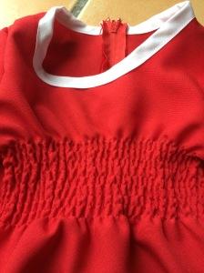 détail robe noel