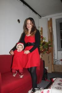 duo mère fille noel robe