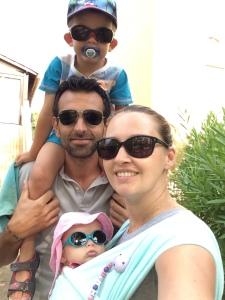 famille lunettes soleil