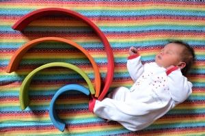 Ellia naissance arc en ciel