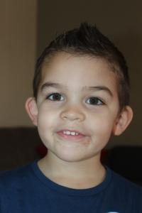 Léandro 4 ans
