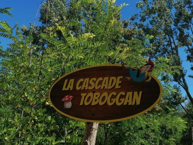 cascade toboggan